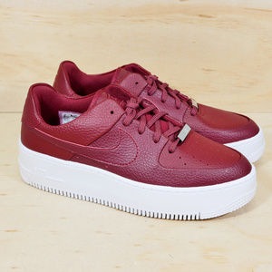 Nike Air Force 1 Sage Low Red NEW
